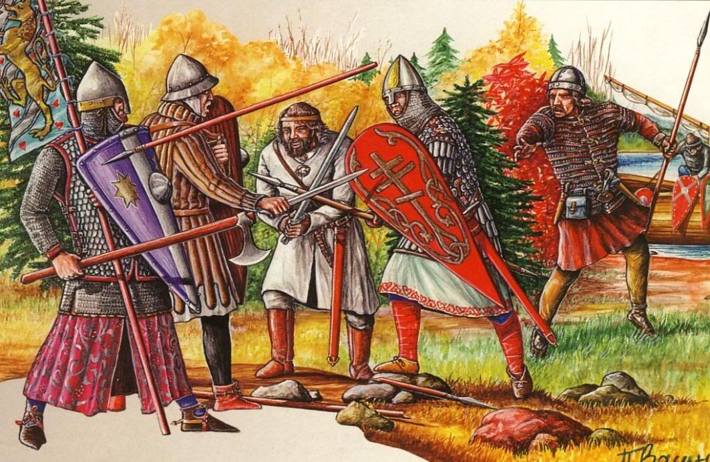 имеет картинки русский воин средневековья первом