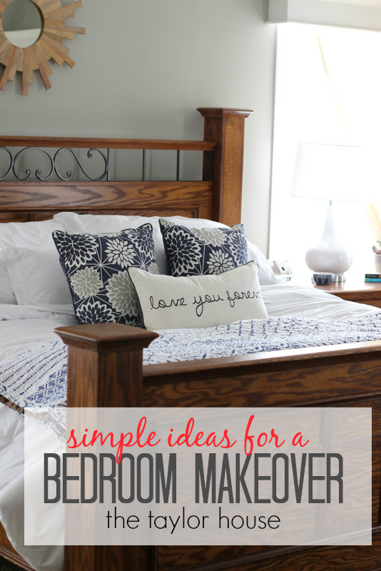 Best Simple Ideas For A Bedroom Makeover Bedroom Makeover 400 x 300
