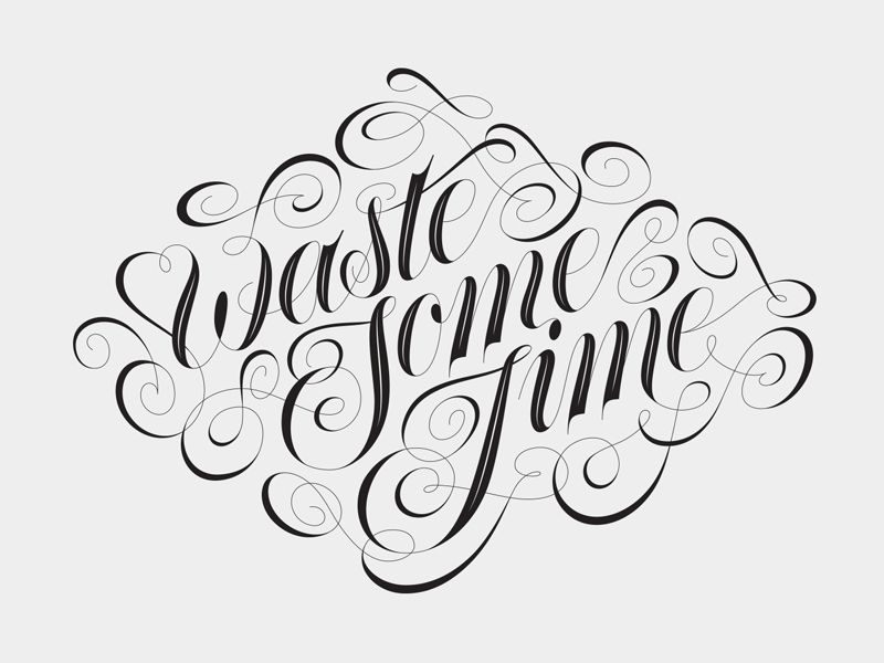 Waste Some Time by Matt Redway