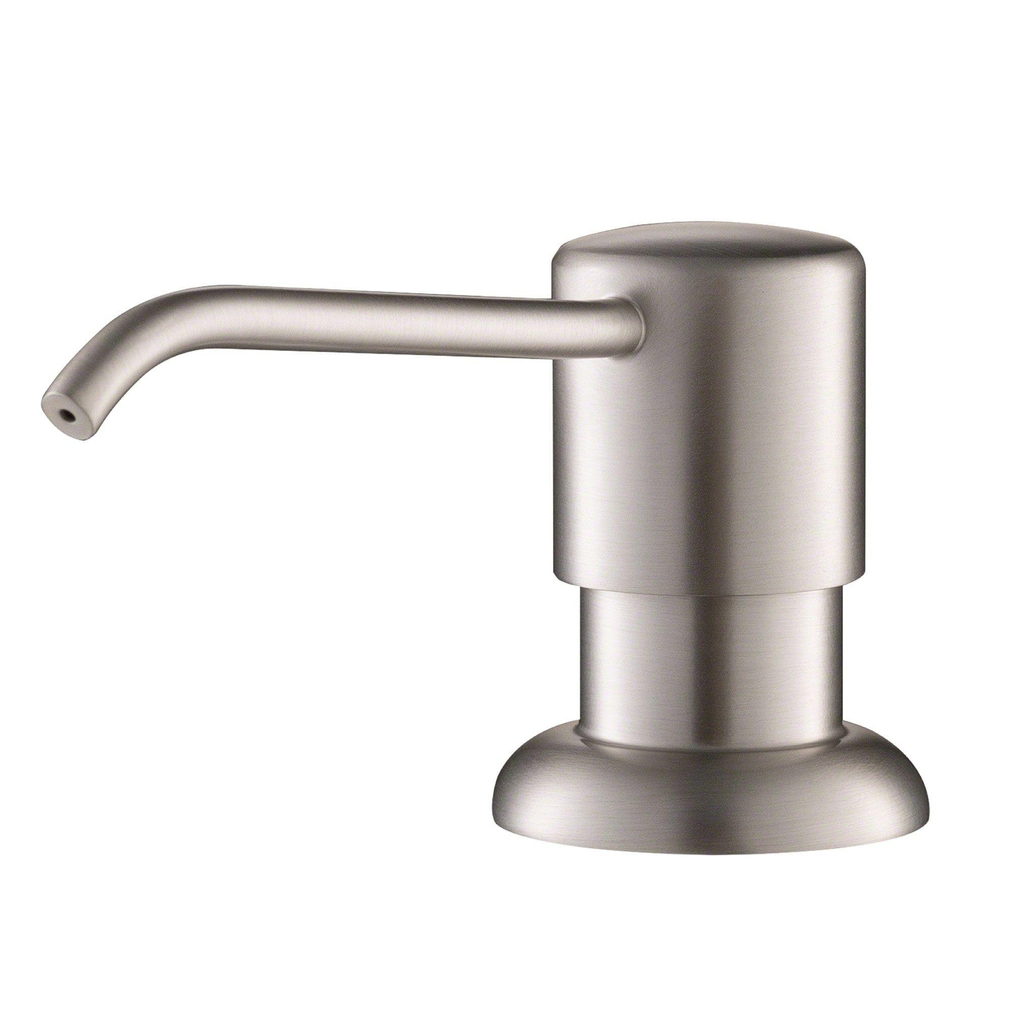 KRAUS KSD-41 Kitchen Soap Dispenser Silver