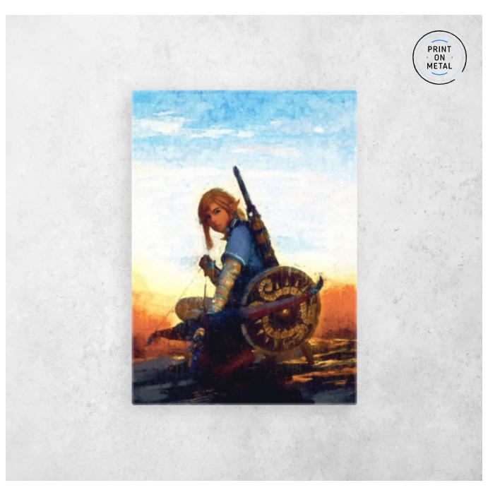 Link Legend Of Zelda Painting Di 2020
