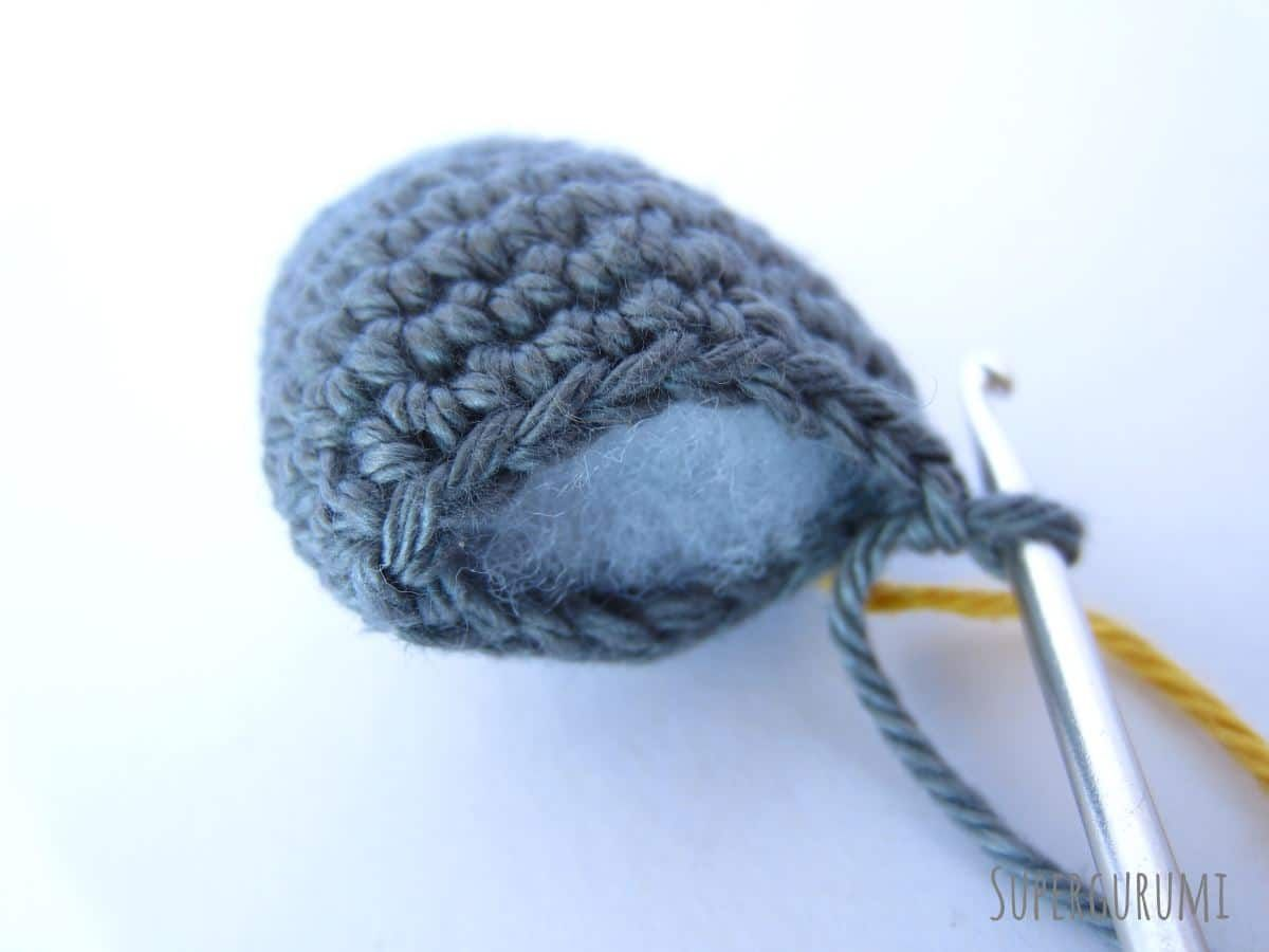 Crochet Rat Head Back | presentes día del maestro | Pinterest ...