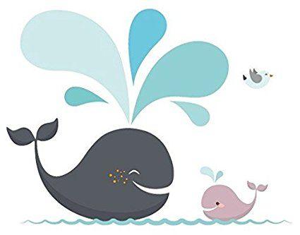 Happy whales wandtattoo wandsticker wale baby kinder ozean ek146 happy whales wandtattoo wandsticker wale baby kinder ozean thecheapjerseys Gallery