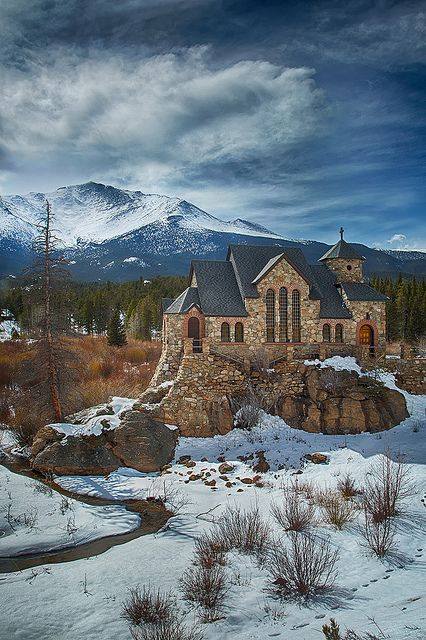 Chapel on the Rock by Mike Schaffner, via Flickr