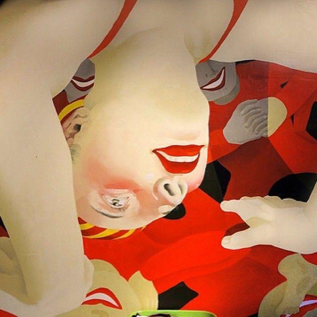 Jordan Kasey's Vibrantly-Colored Oil Paintings.