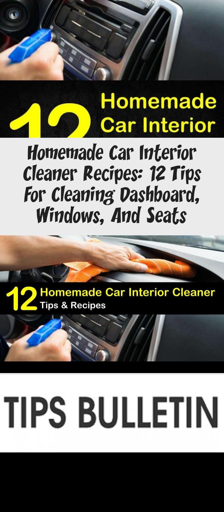 Homemade Car Interior Cleaner Recipes 12 Tips For