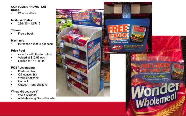 bread #WonderWhite #promotion #ebook #POS #Supermarket #woolworths ...