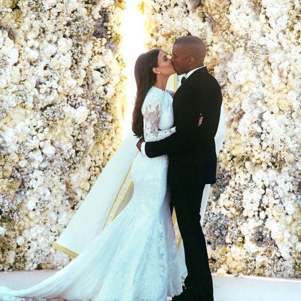 La boda de Kim Kardashian y Kanye West es el tema del momento, pero ...