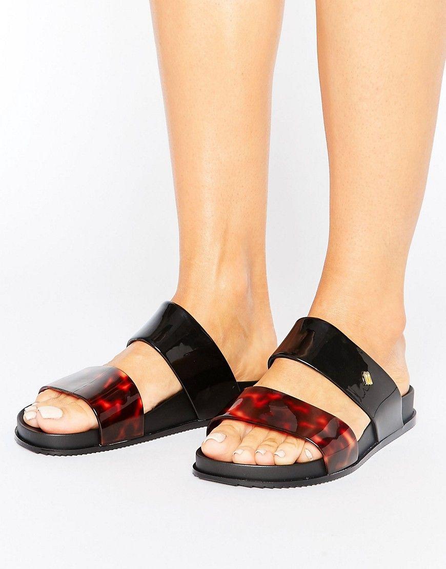 abf2dac08b2f MELISSA COSMIC SANDAL - BLACK.  melissa  shoes