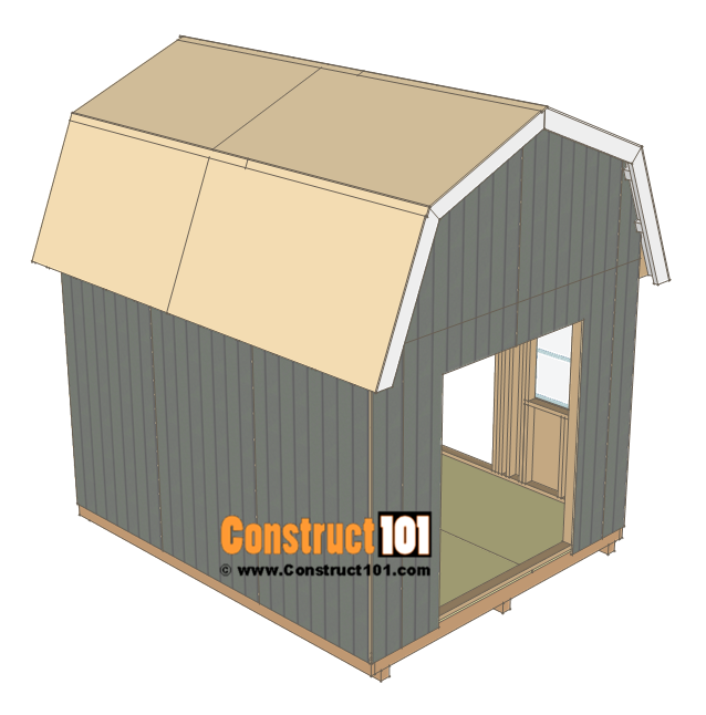 10x12 Barn Shed Plans With Images Shed Plans Barns Sheds Building A Shed