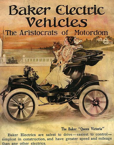 1909 baker electric illustrations pinterest electric vehicle rh pinterest com