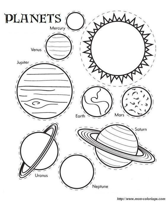 Del Sistema Solar Para Colorear Dibujos Imagixs Tattoo   LH-2 ...