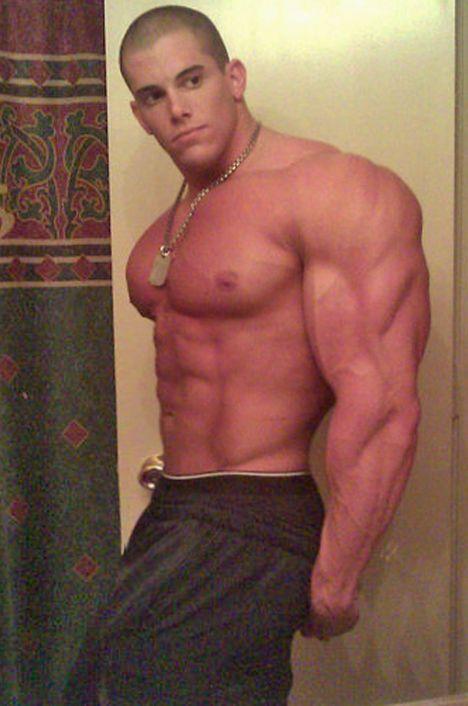 Warm Gay Naked Muscleman Gif