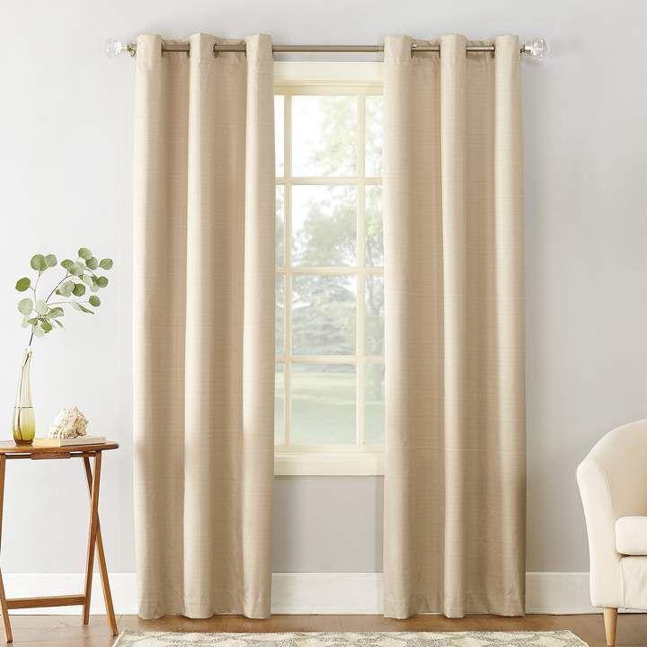 Sun Zero 1 Panel Cooper Thermal Insulated Curtain Cortinas Para