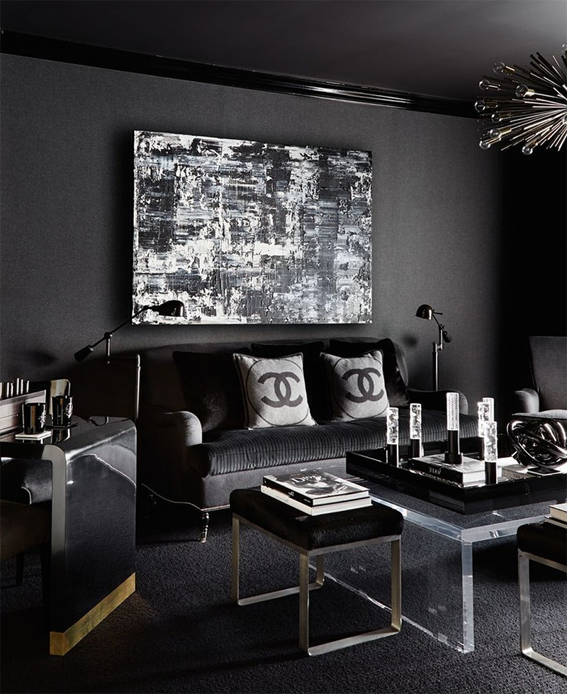 beautiful black and white living room décor in art deco on beautiful modern black white living room inspired id=35154