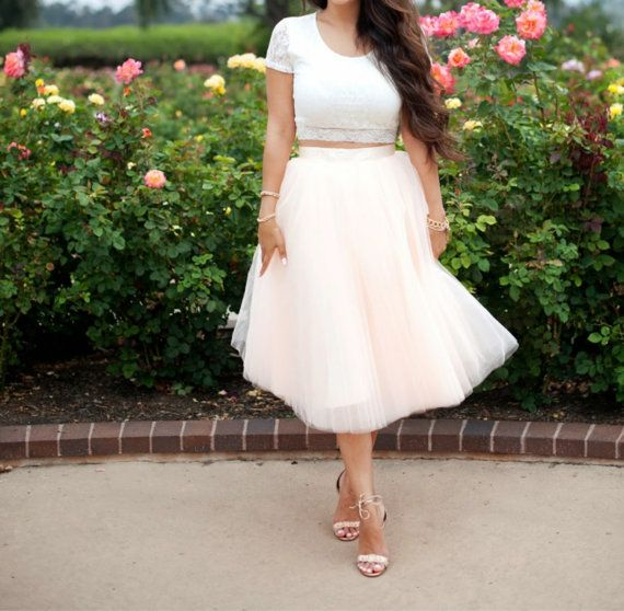 Tulle Skirt Rehearsal Dress Rehearsal Dinner by SandyWatersStore ...