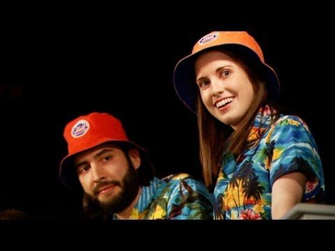 526f394257518 Mets Bucket Hat Guy Meets Overly Attached Girlfriend (Jimmy Fallon) SOO  funny