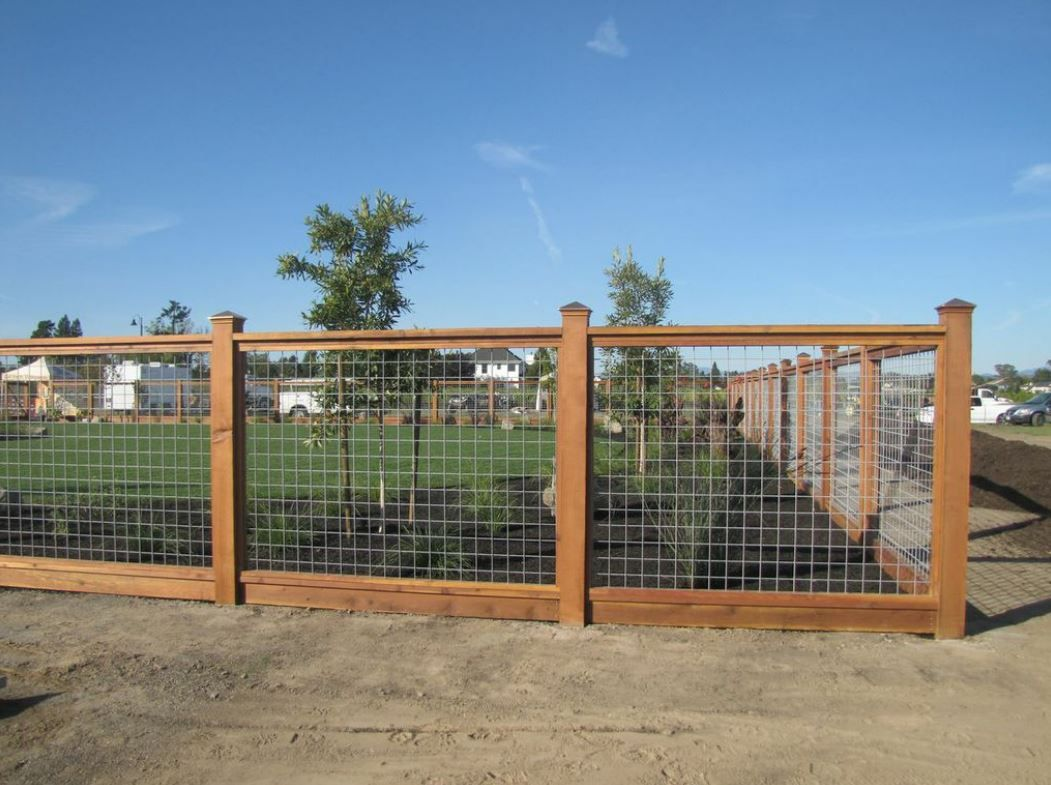 hog wire fence- would want 1/2 height | House Fence | Pinterest ...
