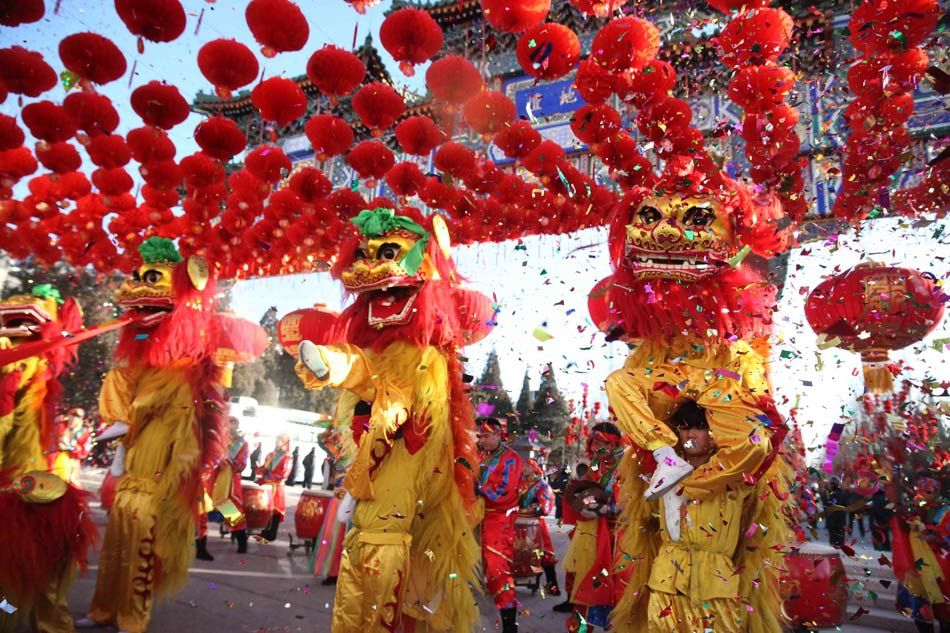 Amazing and colorful Lion Dance performances to celebrate