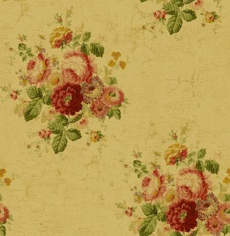 Wallpaper Designer Victorian Antique Looking Purple Pink