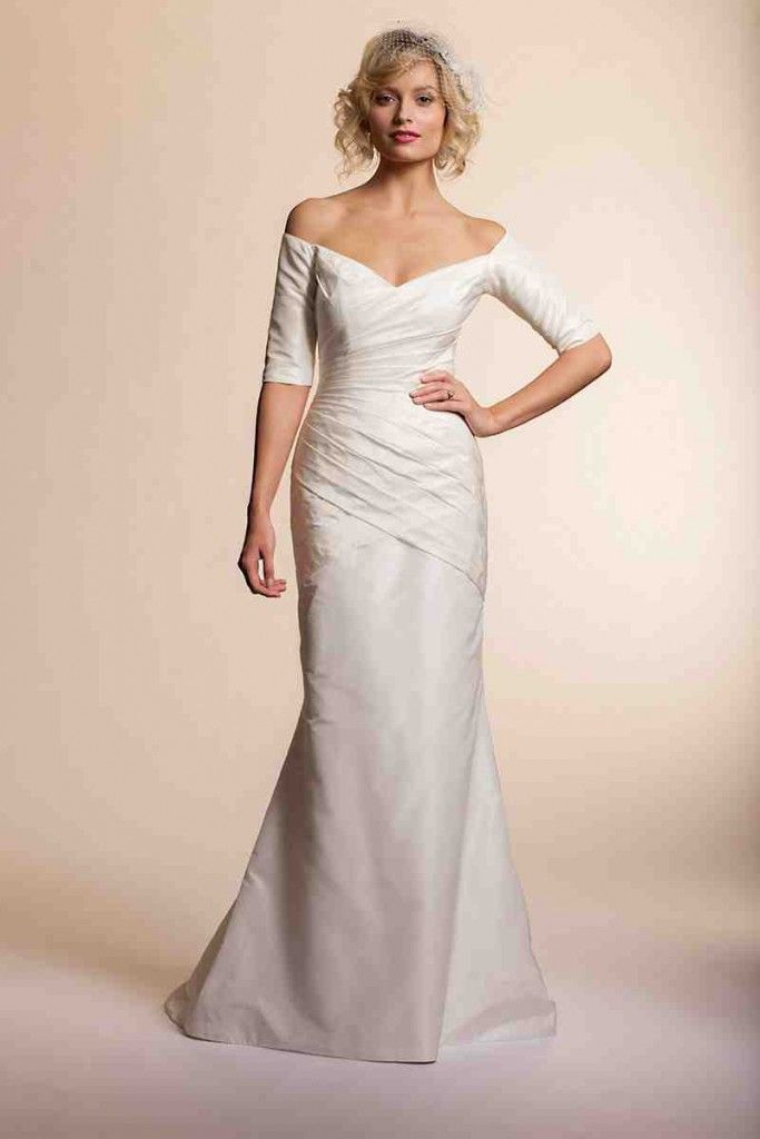 Silk Taffeta Wedding Dress | Silk Wedding Dresses | Pinterest | Silk ...