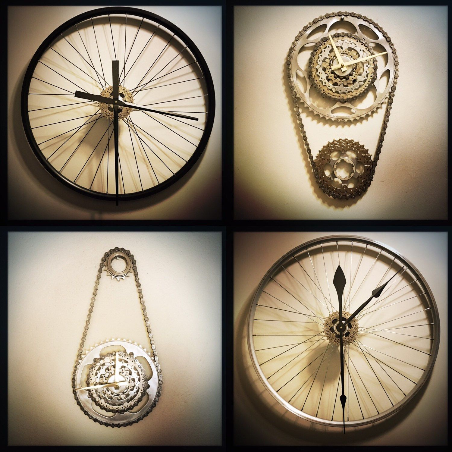 cool office gear. No Matter How You Like It, A Hanging Bike Gear Wall Clock Or Cool Office
