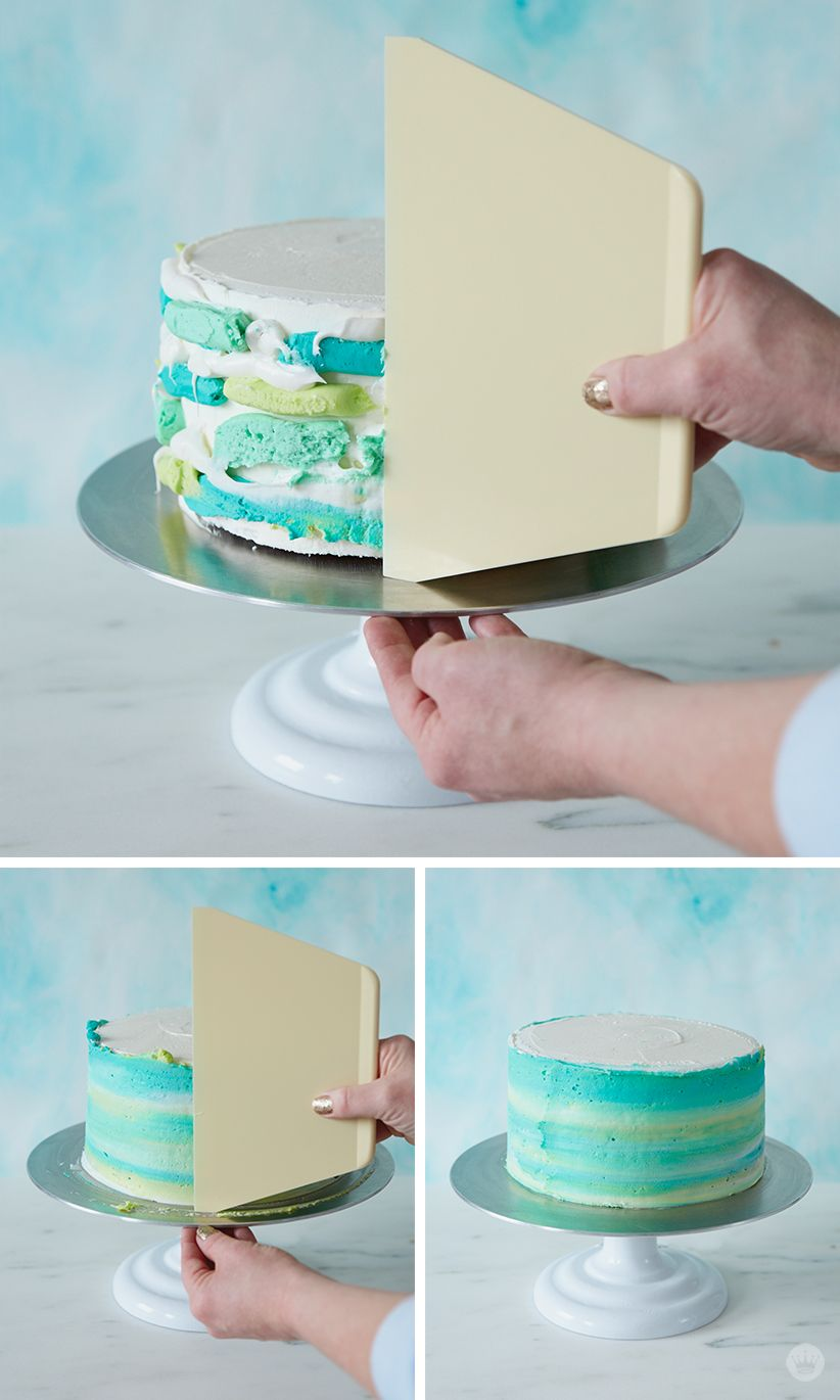 Make A Modern Ombre Easter Cake With Images Easy Cake