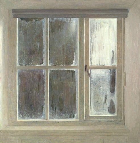 dead of winter, dawn  jan van der kooi interior art Pinterest - Peindre Fenetre Bois Interieur