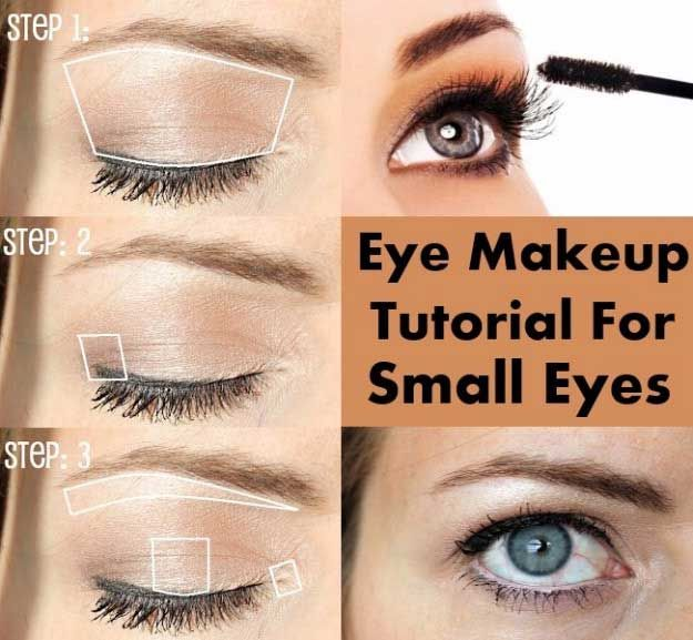34 Makeup Tutorials For Small Eyes Makeup For Small Eyes Small