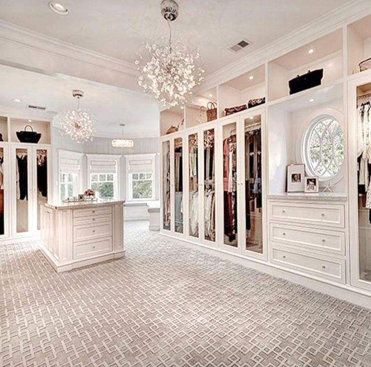 Gorgeous Closet In The Master Bedroom