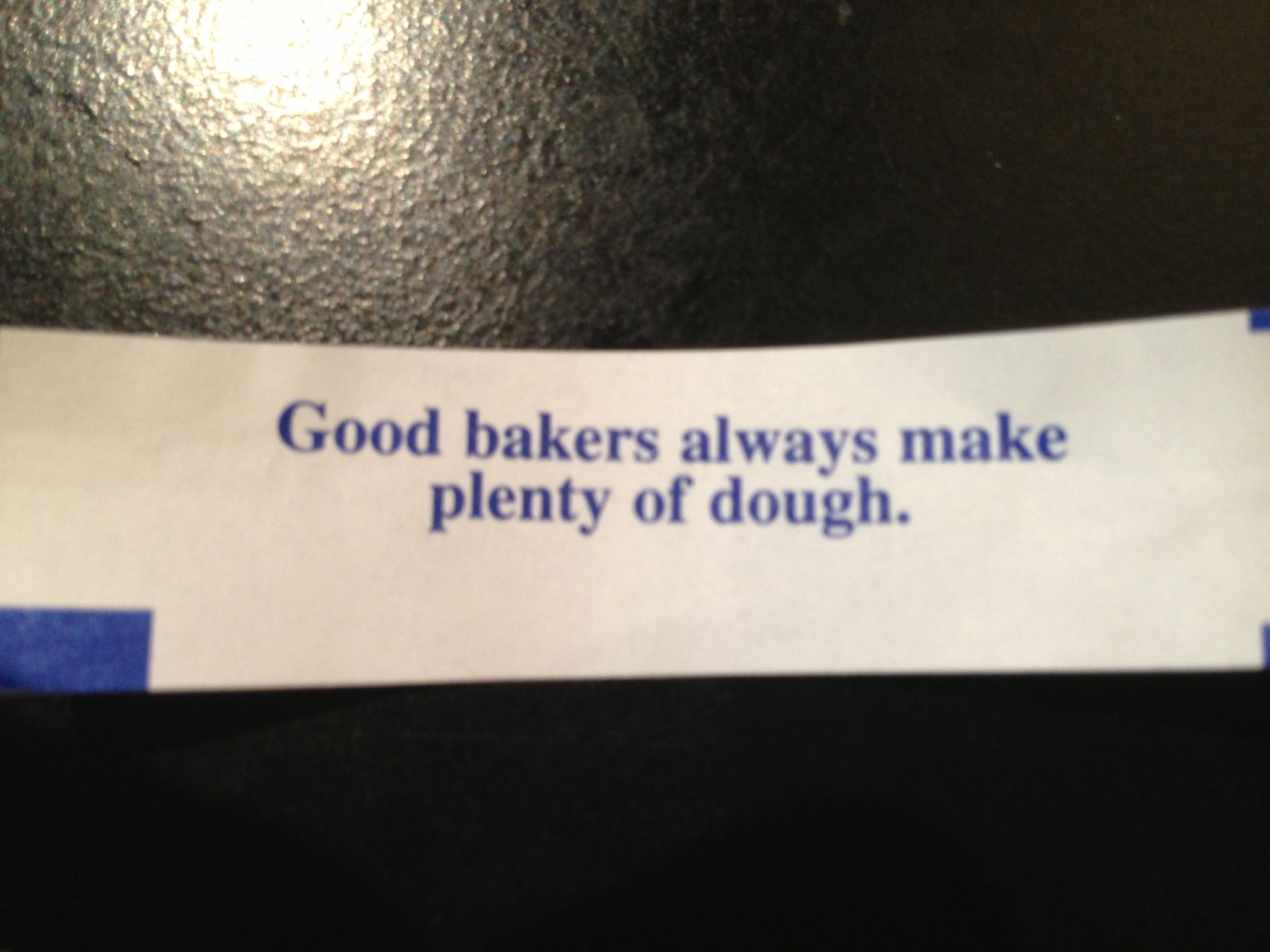 Most perfect fortune ever!