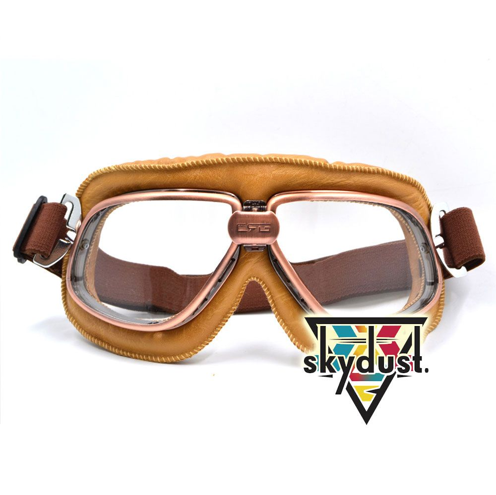 f91cf30b08d7 Pilot Vintage Style Rave Goggles   Price   30.99  amp  FREE Shipping