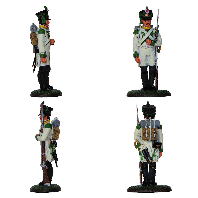 """Voltigeur - 1806 (Colección """"Soldados de las Guerras Napoleónicas"""" editada por delPrado - 60 mm)"""