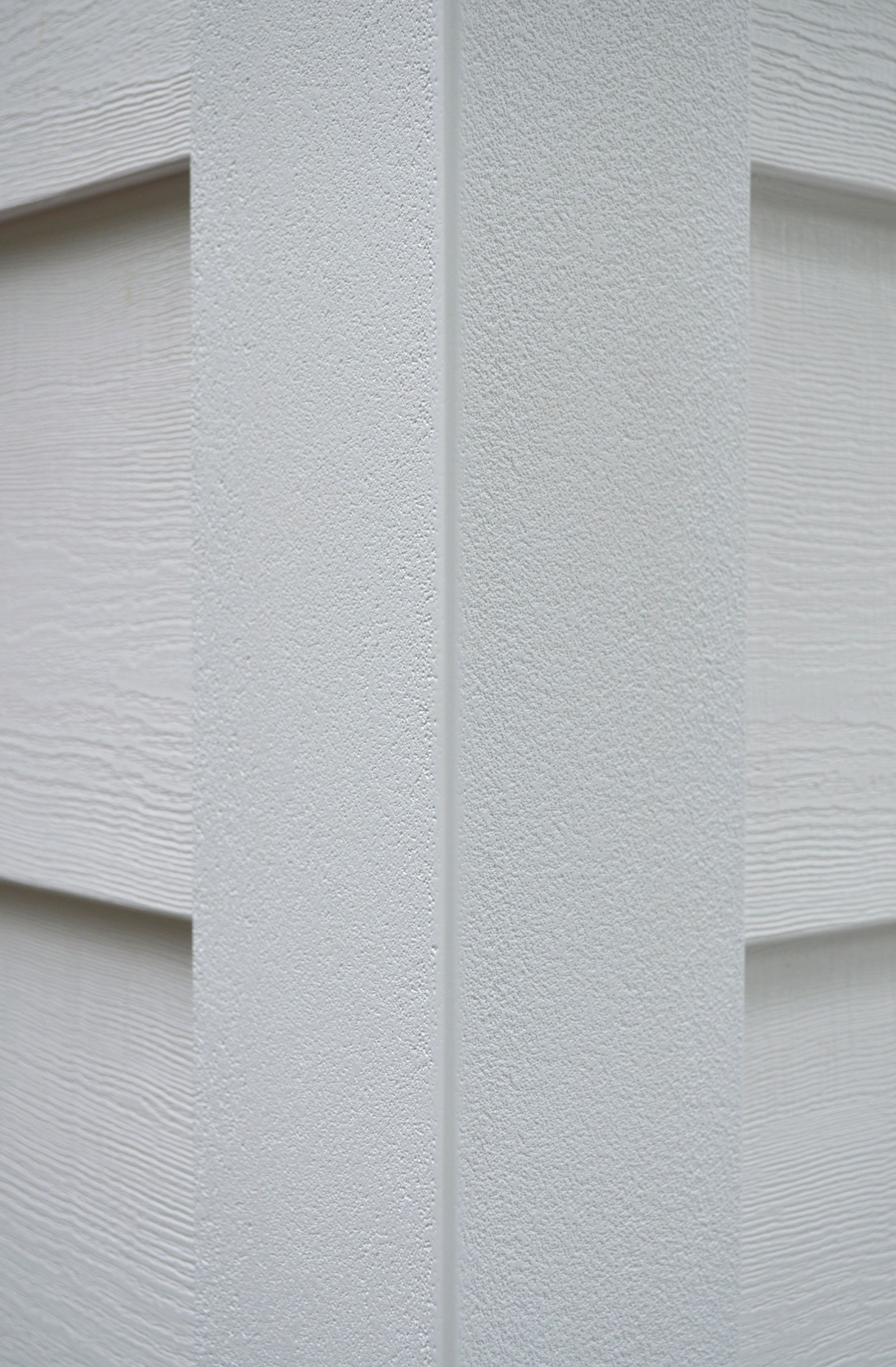 Everlast Polymeric Cladding 6 7 8 Profile With Everlast Outside Corner Post In White Wow Window Trim Exterior House Siding Cladding