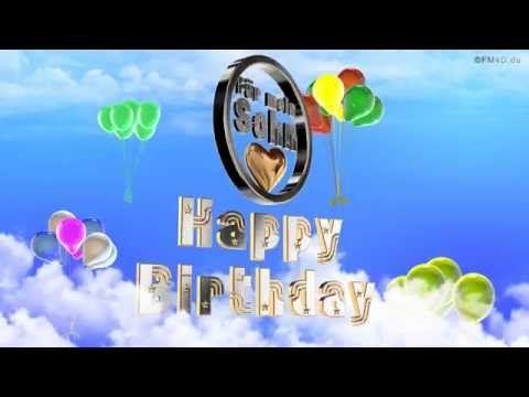 Geburtstagslied Fur Mein Sohn Happy Birthday To You