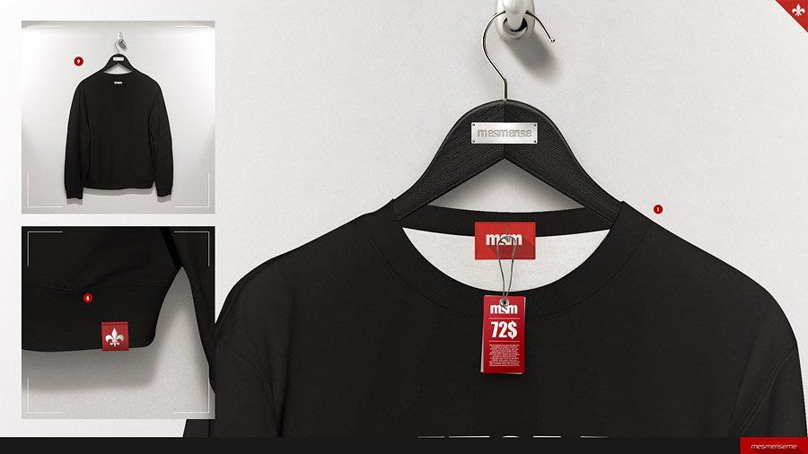 Download Hoodie Blouse On 5 Stages Mock Up Black Hangers Loose Shirts Black Safety Pins