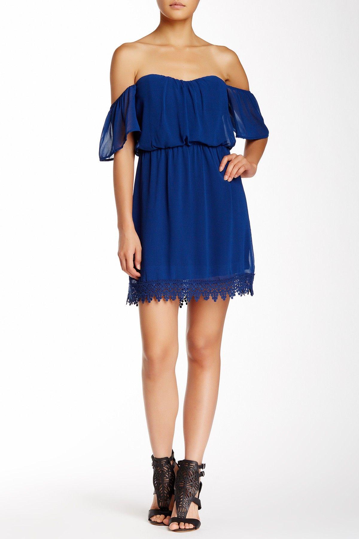 bc99d743813af Solid Off-the-Shoulder Boho Dress (Juniors) by Socialite Juniors on  @nordstrom_rack