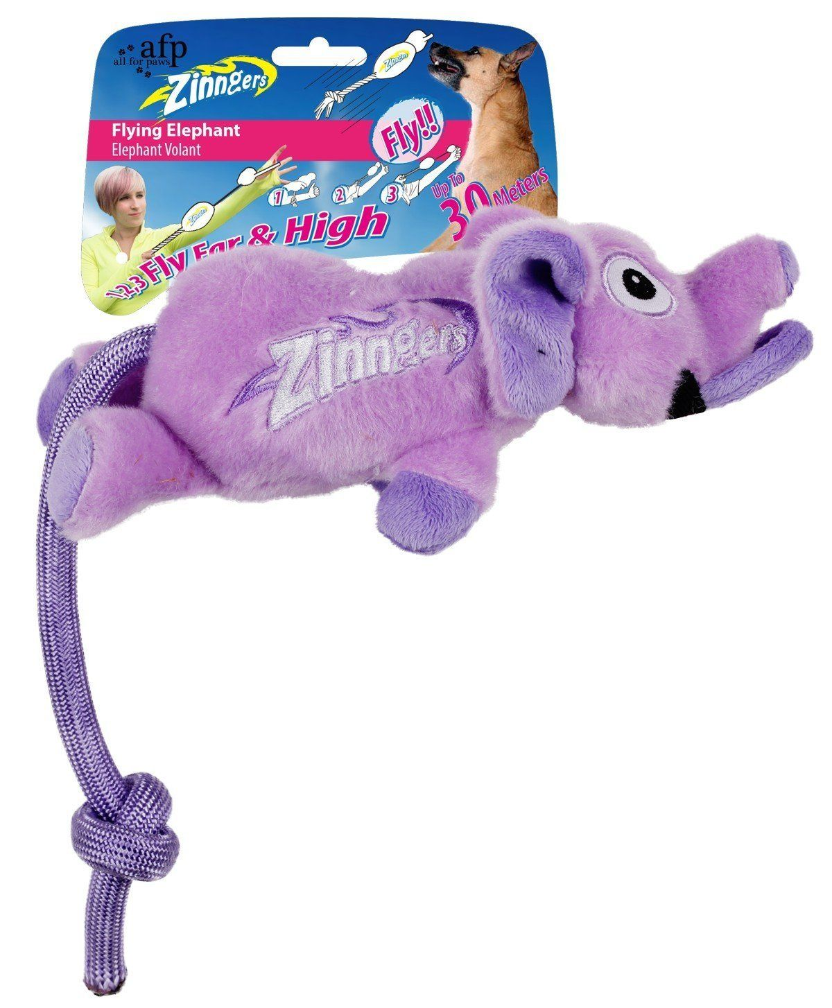 All For PawsNew Zinngers Flying Cartoon Animals Sound