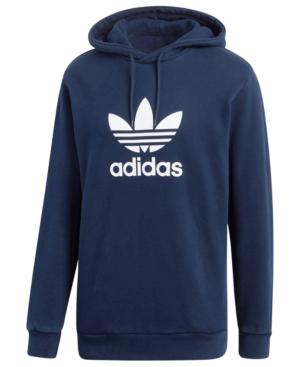Adicolor Hoodie Trefoil Blue Adidas 2xl Men's Originals F3lcTK1J