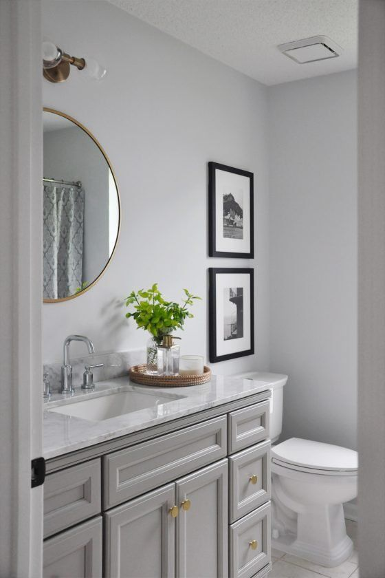 Photo of Guest Bathroom Reveal Tour