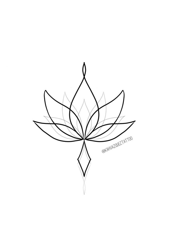 Ornamental lotus flower available for tattooing with @KahVazquezTattoo Www.instagram.com/KahVazquezTattoo #lotusflower