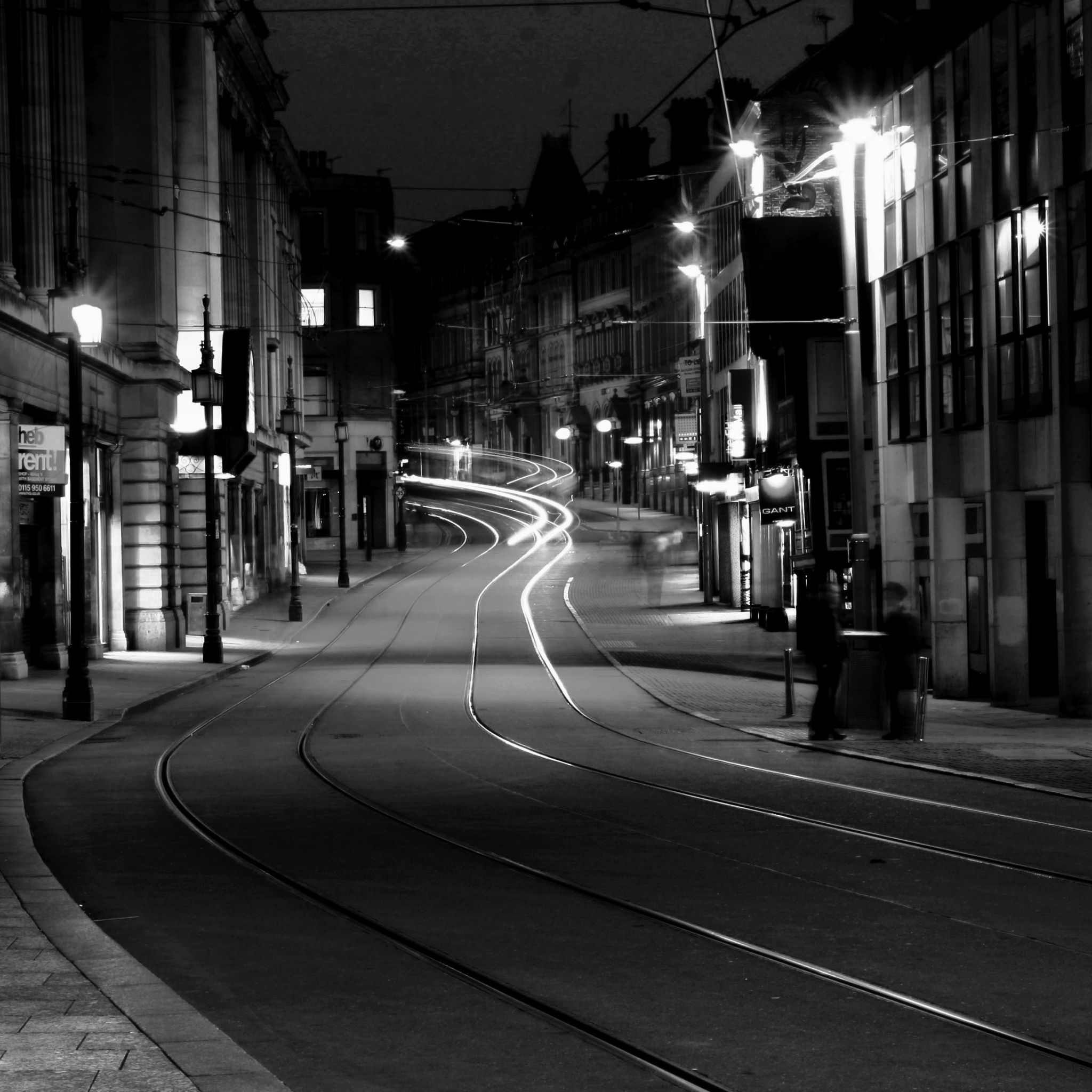 Canada City Street Night View