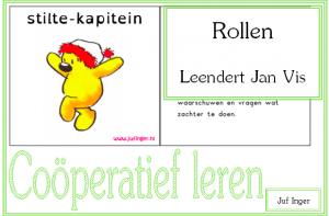 Cooperatief leren- Rollen kaartjes