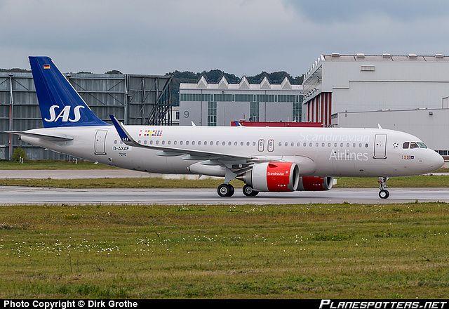 D Axaf Sas Scandinavian Airlines Airbus A320 251n