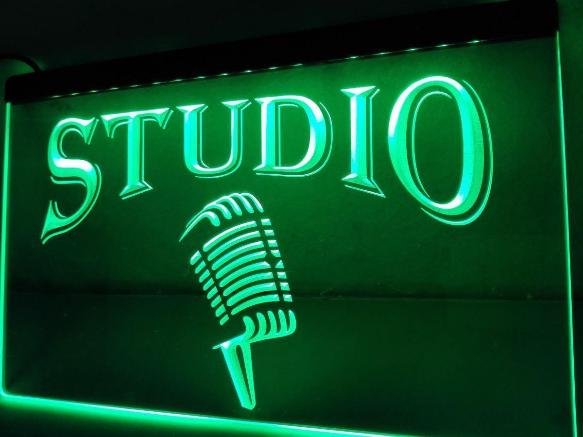 Music Studio LED Neon Light Sign