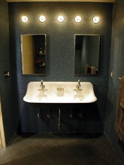 Dont Like How Dark It Is But Love This Idea For A Sink In The Boys