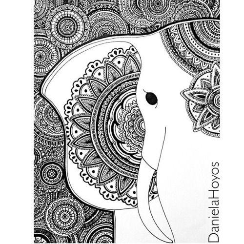Daniela Hoyos Art Con Imagenes Dibujos Zentangle Art Dibujos