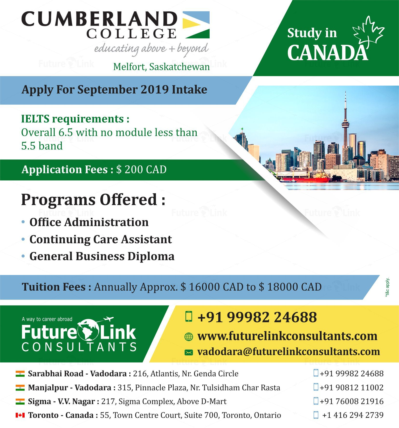 Hurry up! Cumberland College, Melfort, Saskatchewan