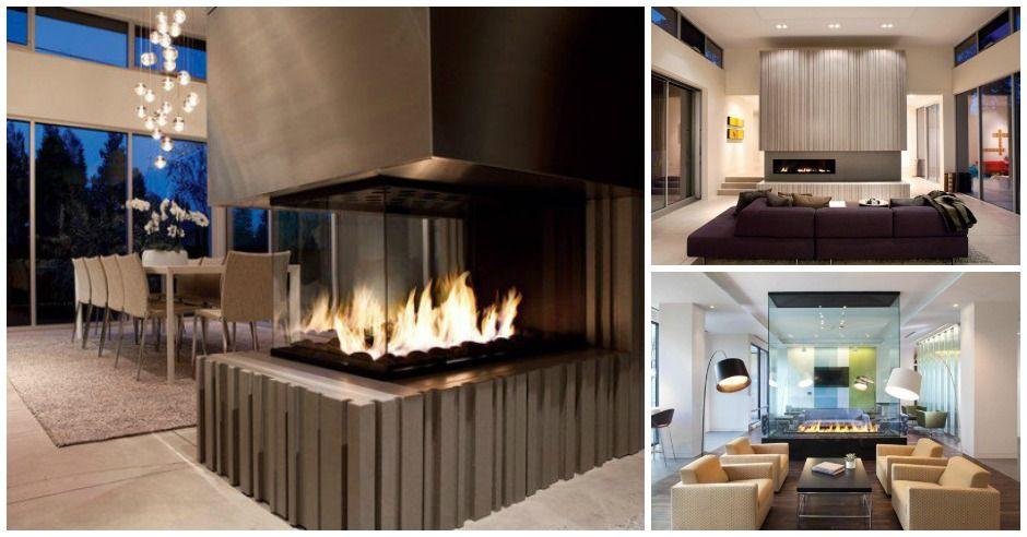22 moderne Kamin Design-Ideen für gemütliche Wohnzimmer Look