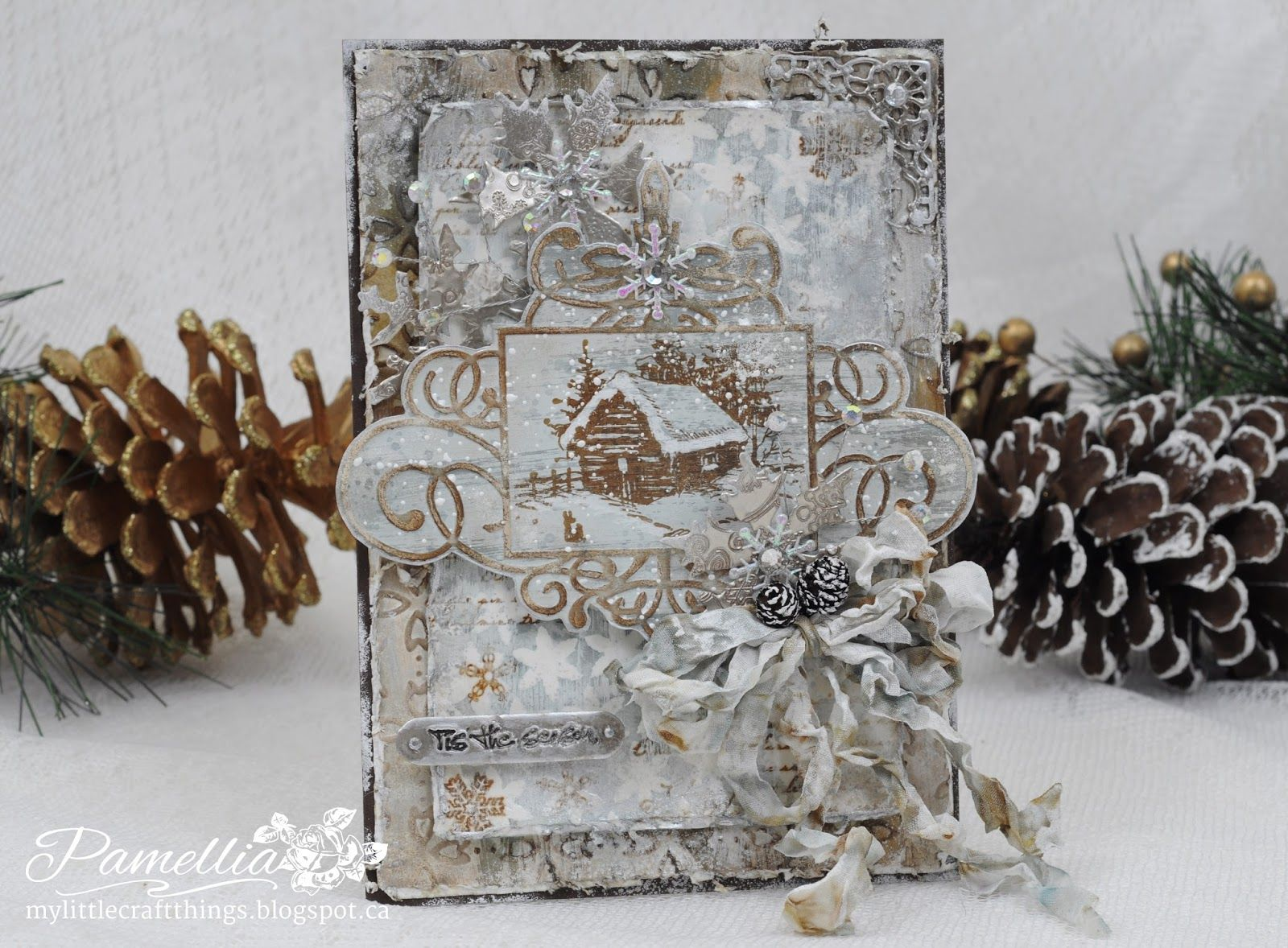 My Little Craft Things: Christmas Cottage - Platinum Style